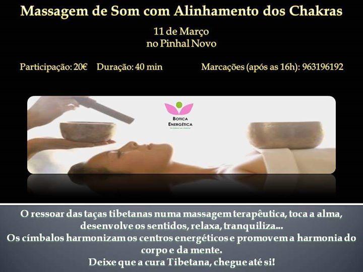 Massagem de Som - Alinhamento dos Chakras