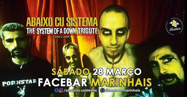Abaixo Cu Sistema The System Of A Down Tribute 28 Março Facebar