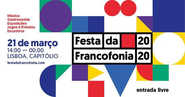 Festa da Francofonia - 21 de março 2020