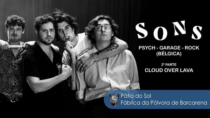 SONS - Psych/Garage/Rock (Bélgica) + Cloud Over Lava DJ7