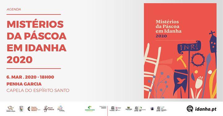 Agenda Mistérios da Páscoa em Idanha 2020 - Apresentação
