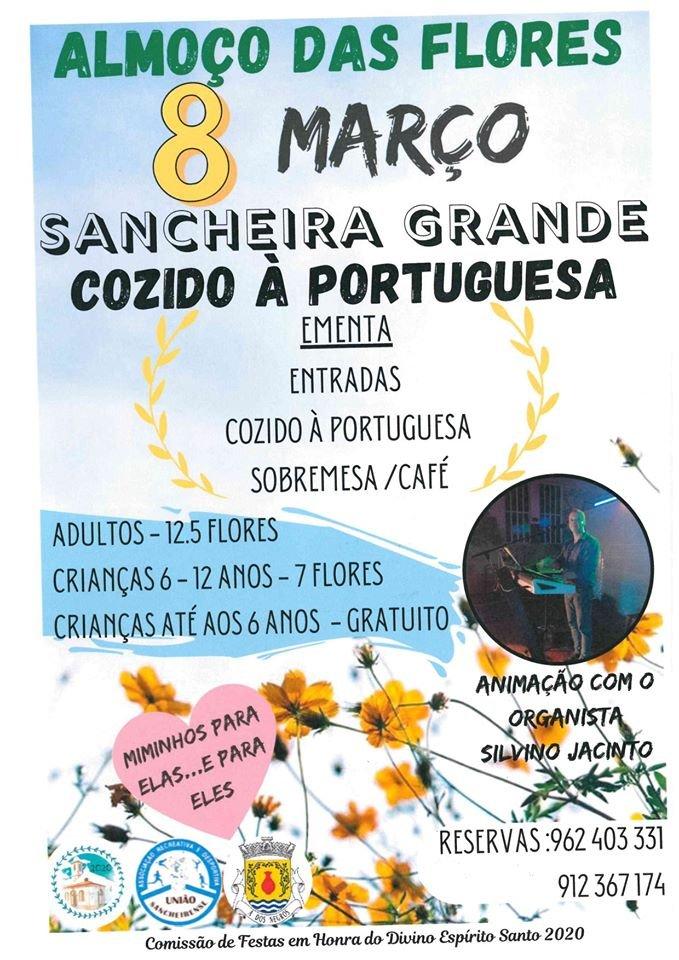 Almoço das Flores | Sancheira Grande
