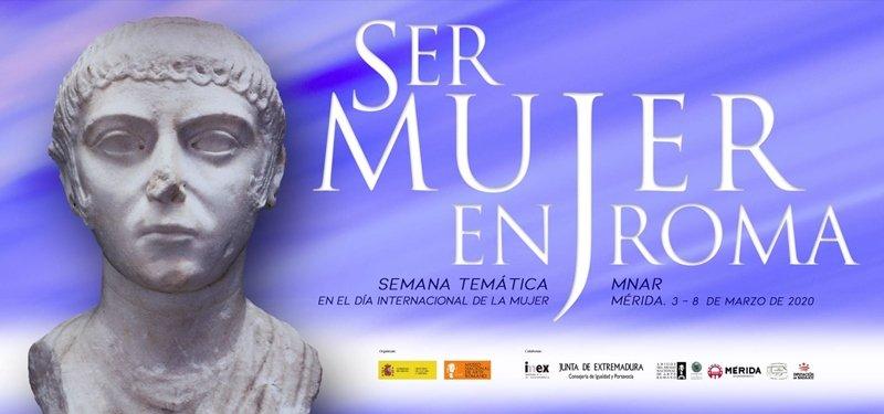 Semana Temática 'Ser Mujer en Roma', en el MNAR