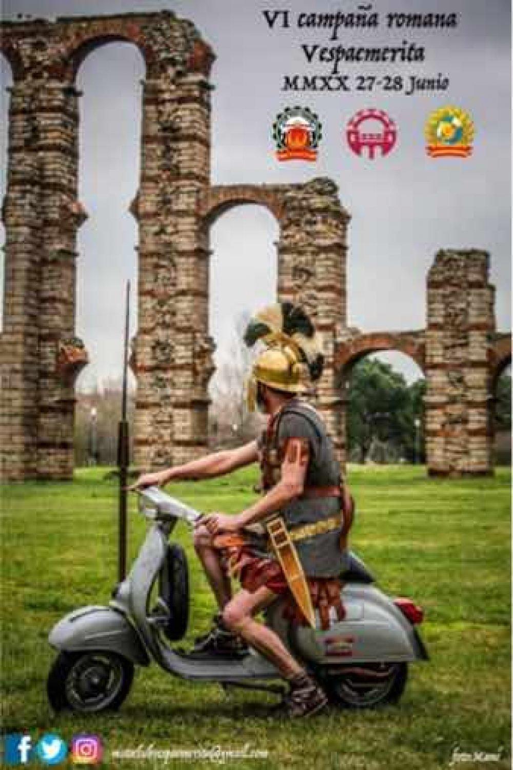 VI Campaña romana. Vespaemerita 2020