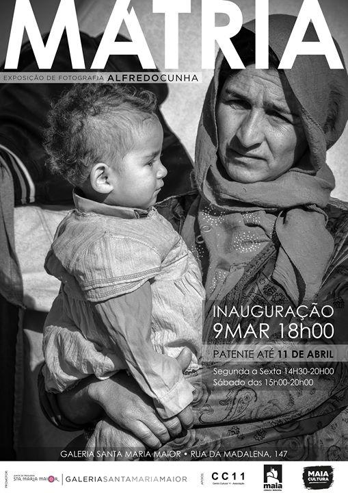Inauguração | Mátria - exposição de fotografia de Alfredo Cunha