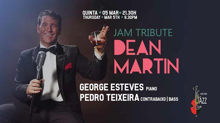 JAM Tributo Dean Martin George Esteves pI V e Pedro Teixeira ctb