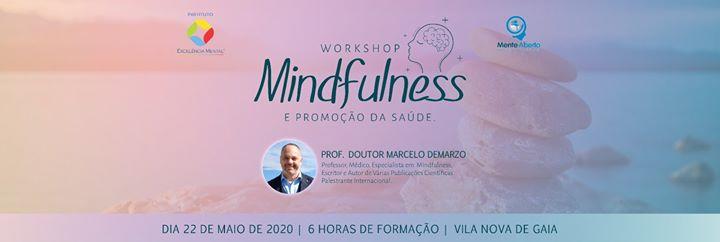 Workshop Mindfulness e Promoção da Saúde