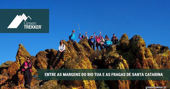 Entre as margens do Rio Tua e as Fragas de Santa Catarina