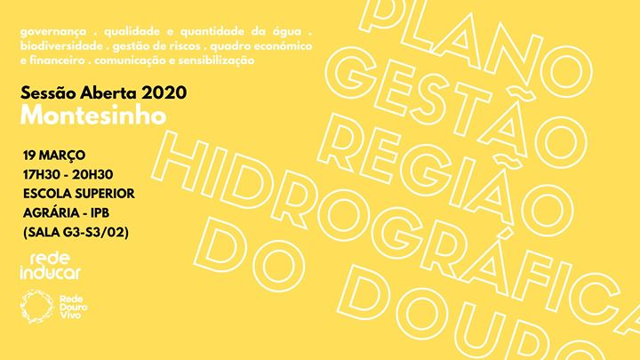 Sessão Aberta Montesinho 2020 - Rede Douro Vivo