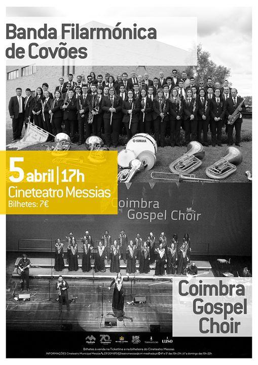 Banda Filarmónica de Covões com Coimbra Gospel Choir