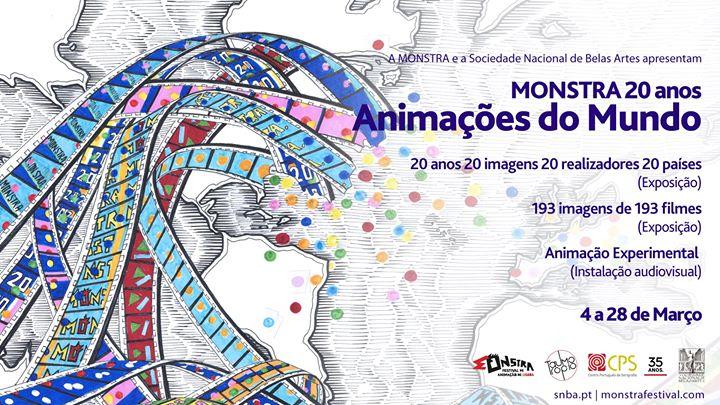 Monstra 20 anos - Animações do Mundo