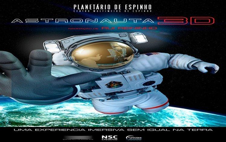 PLANETÁRIO DIGITAL IMERSIVO - Astronauta (3D)