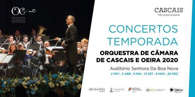 Temporada de Concertos  da Orquestra de Câmara de Cascais e Oeiras 2020