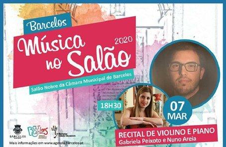 MÚSICA NO SALÃO 2020 - Recital de Violino e piano com Gabriela ...