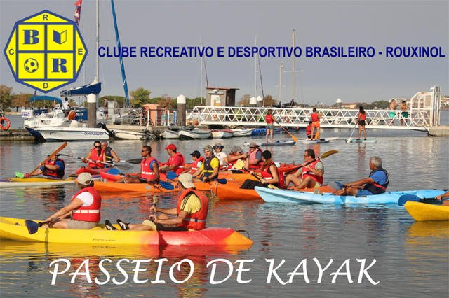 Passeio de Kayak Seixal-Corroios
