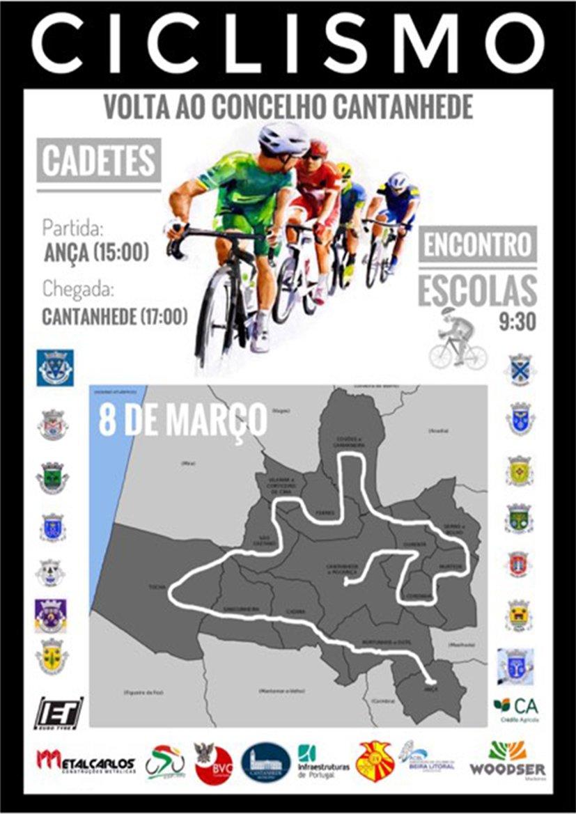 Ciclismo: Volta ao Concelho de Cantanhede