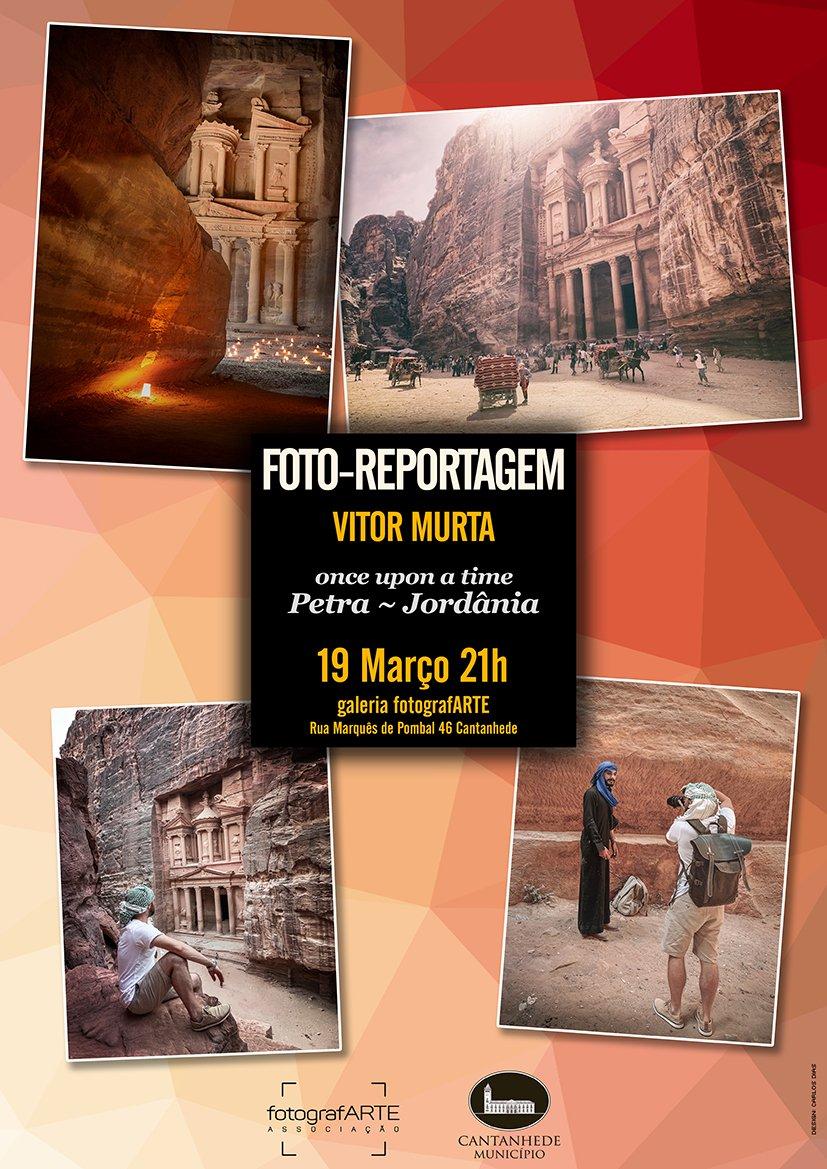 Foto Reportagem Once upon a time: Petra - Jordânia, de Vitor Murta