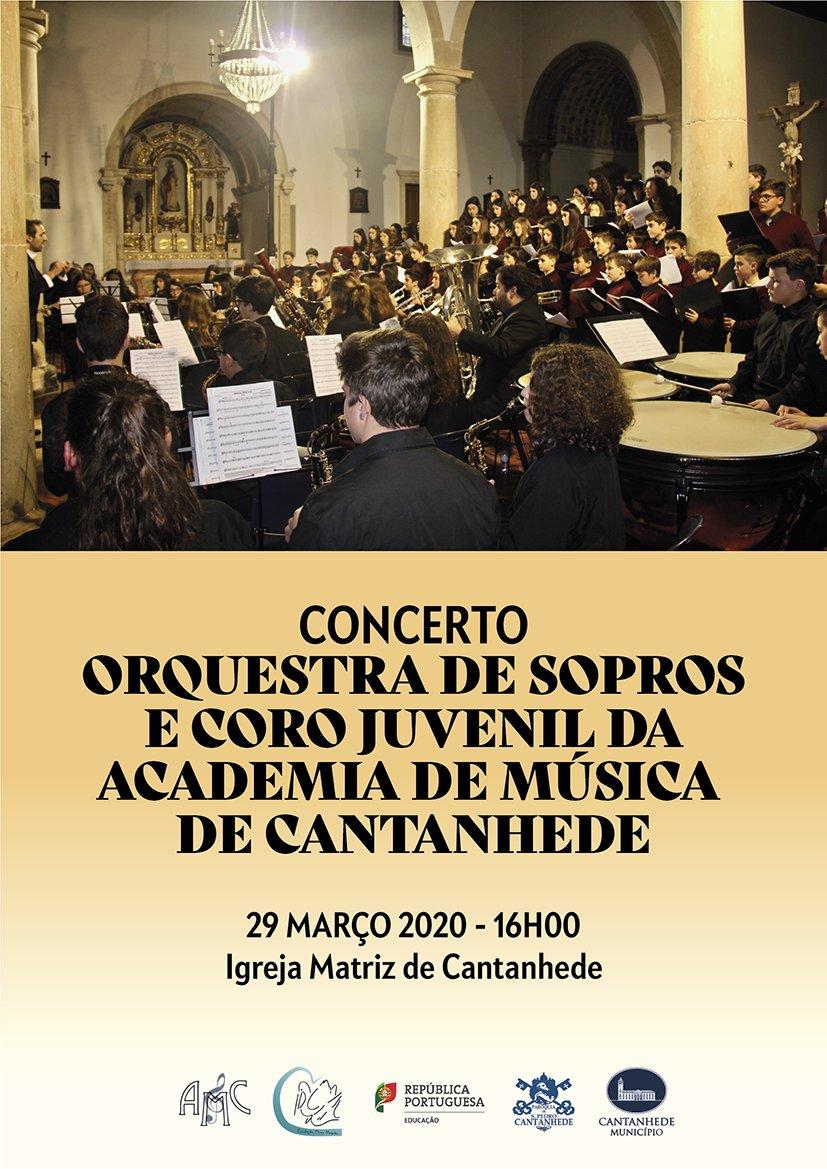 Concerto Orquestra de Sopros e Coro Juvenil da Acandemia de Música de Cantanhede