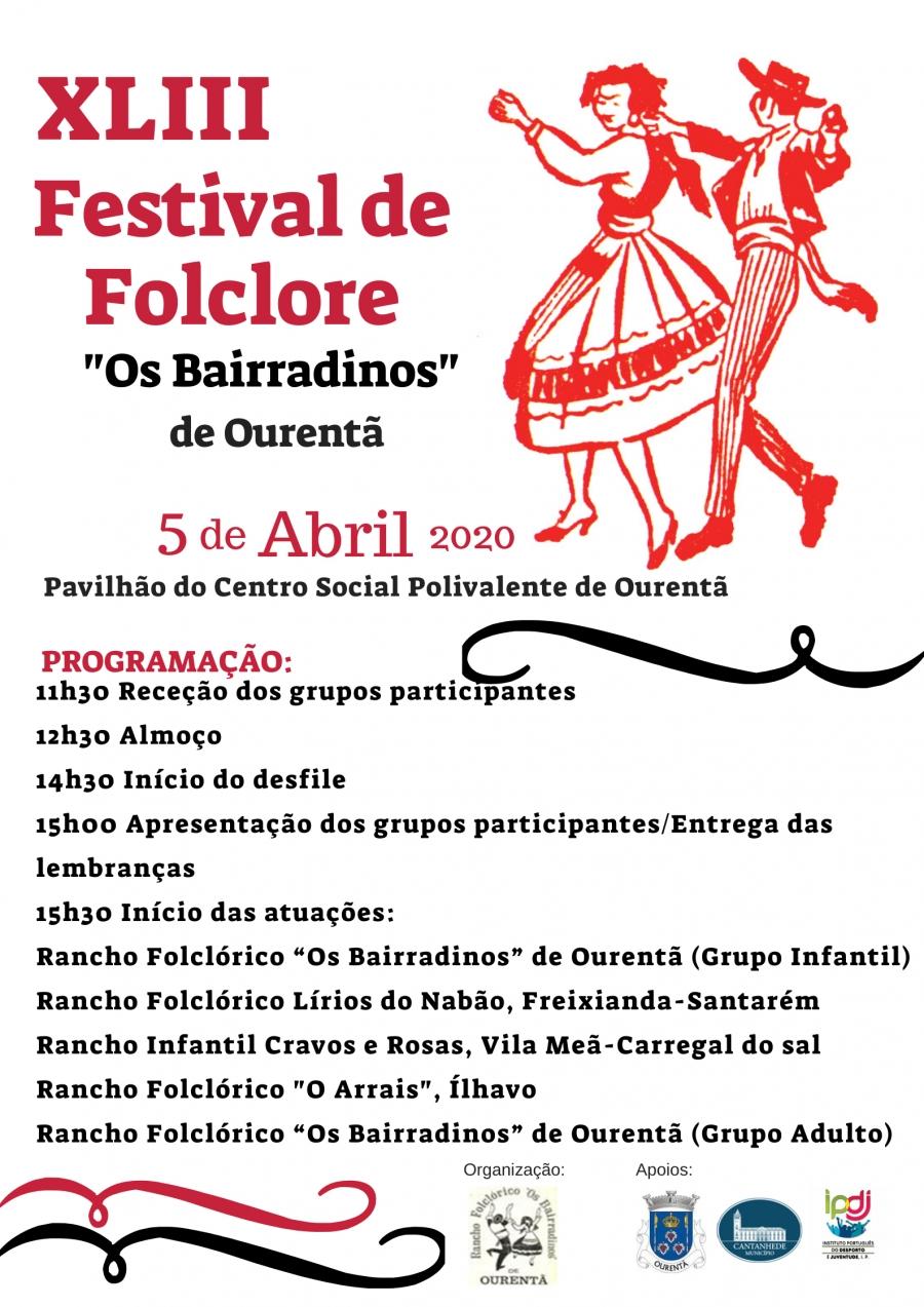 43º Festival de Folclore 'Os Bairradinos' de Ourentã