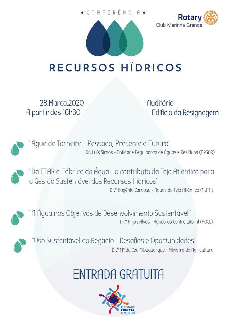Conferência 'Recursos Hídricos'