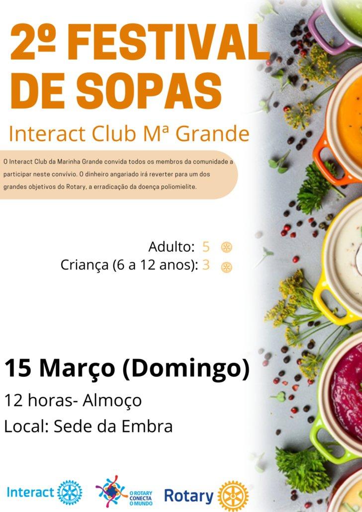 2º Festival de Sopas Interact Clube da Marinha Grande