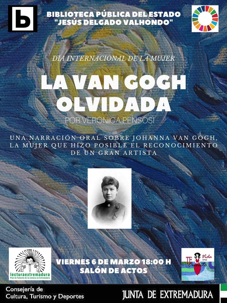 Charla 'La Van Gogh olvidada'