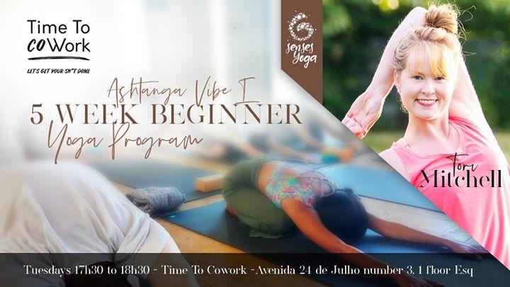 Online Ashtanga Vibe I - 5 Week Beginner Program