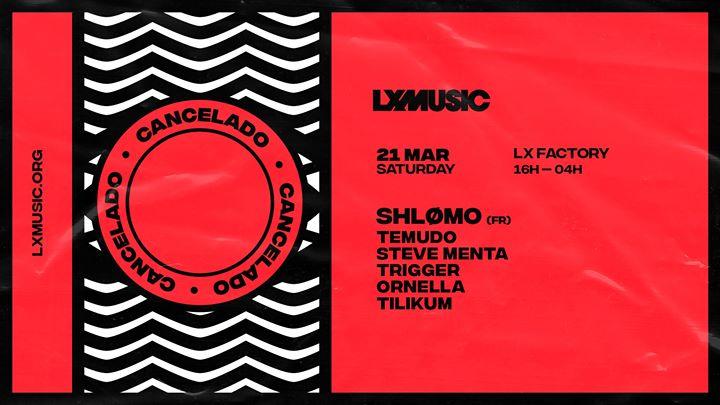 Cancelado - LX Music presents Shlømo