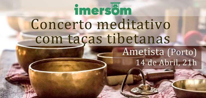 Concerto Meditativo com taças tibetanas (Ametista)