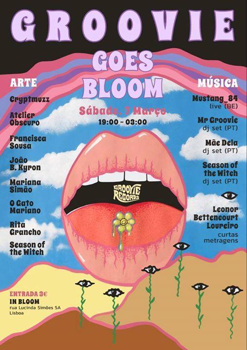 Groovie Goes Bloom #1 Art & Music at In Bloom