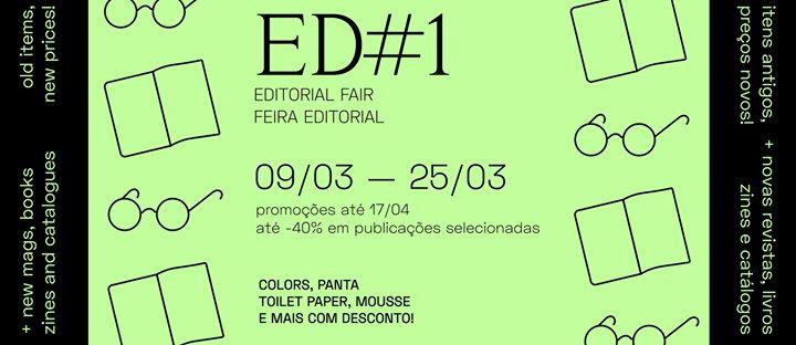 ED #1 - Feira Editorial