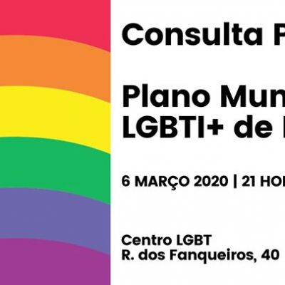 Queres melhorar um plano LGBTI para que pense também em ti?