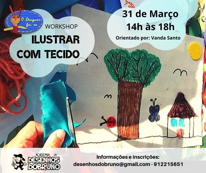 Workshop - Ilustrar com tecido