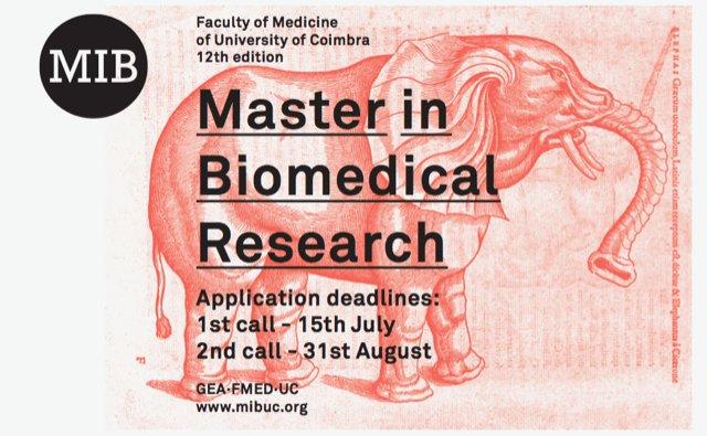 Mestrado de Investigação Biomédica – Candidaturas