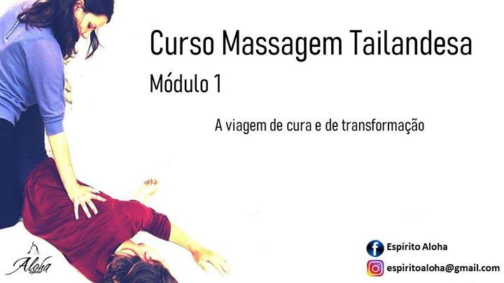 Curso Massagem Tailandesa Módulo 1 - Portimão