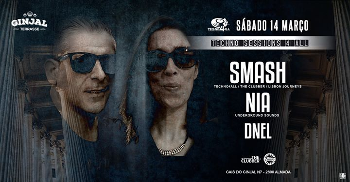 Techno4All - SMASH NIA DNEL - Ginjal Terrasse / Free Party
