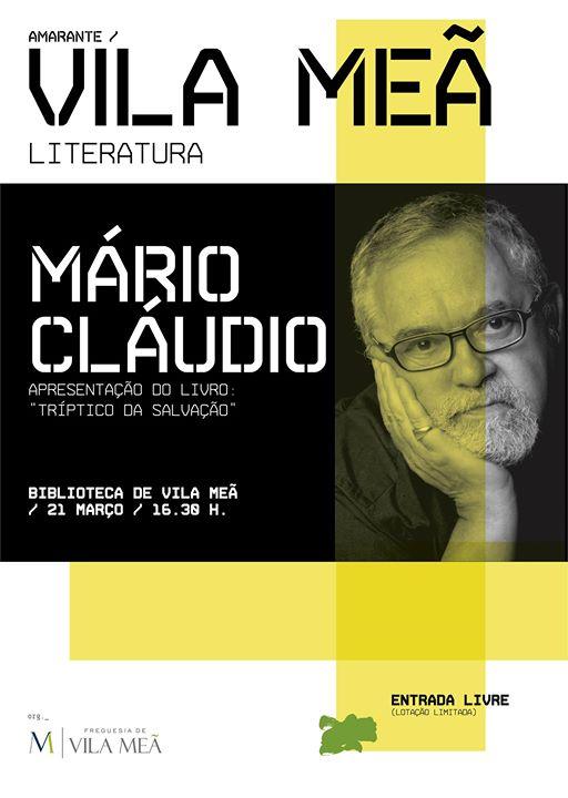Mário Cláudio - Apresentação do Livro 'Tríptico da Salvação''