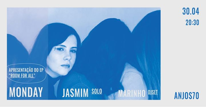 Monday | Apresentação de 'Room for All', 1ª parte: Jasmim (solo)