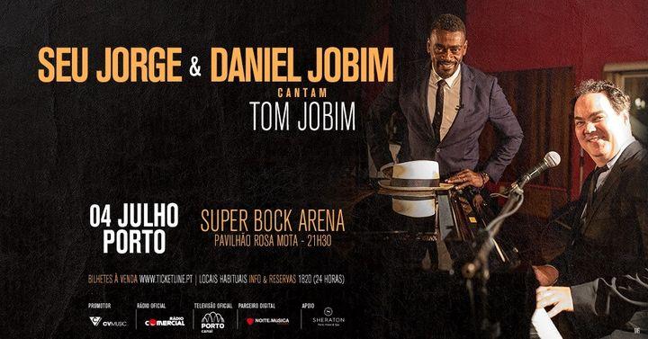 Seu Jorge & Daniel Jobim cantam Tom Jobim