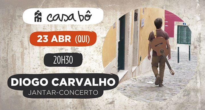 Jantar-Concerto: Diogo Carvalho