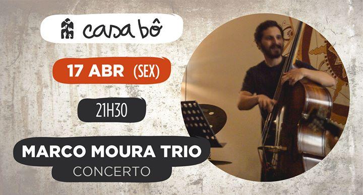 Concerto: Marco Moura Trio