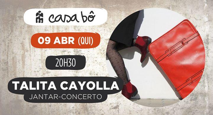 Jantar-Concerto: Talita Cayolla