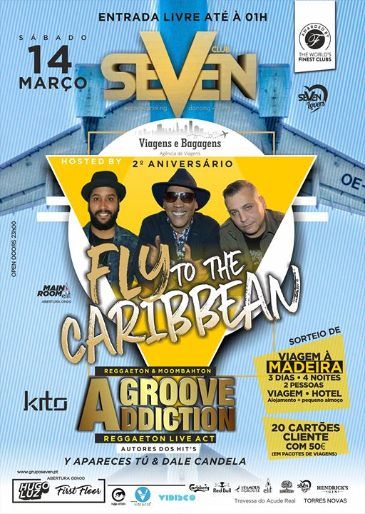 Fly to the Caribbean | Groove Addiction