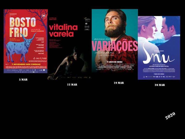 Ciclo de cinema de Março - Cinema português