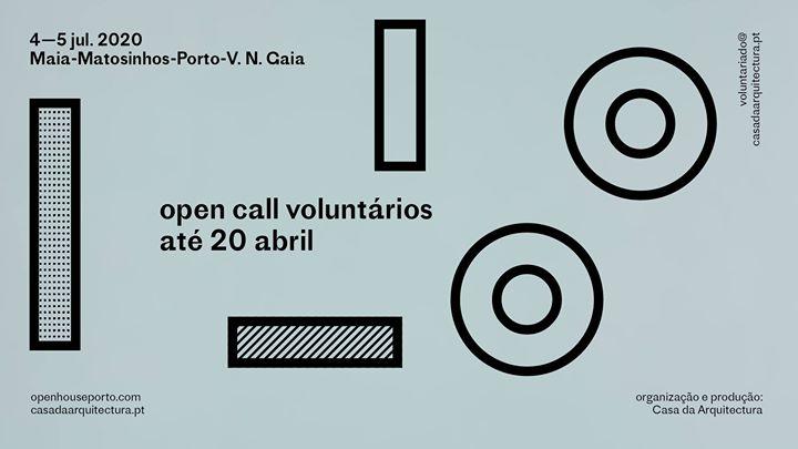 Open House Porto 2020 / 4 e 5 de julho