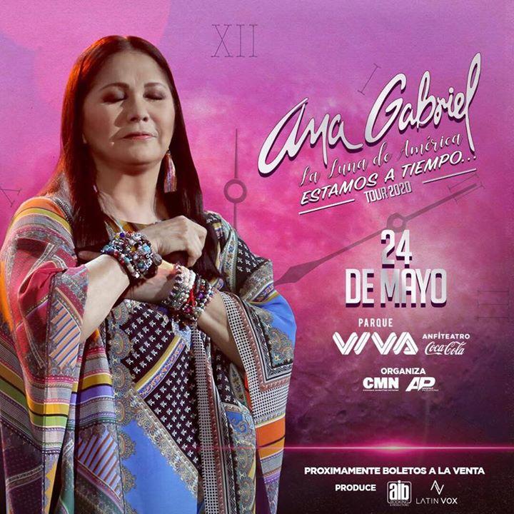 Ana Gabriel en Costa Rica 2020 ((EVENTO OFICIAL))