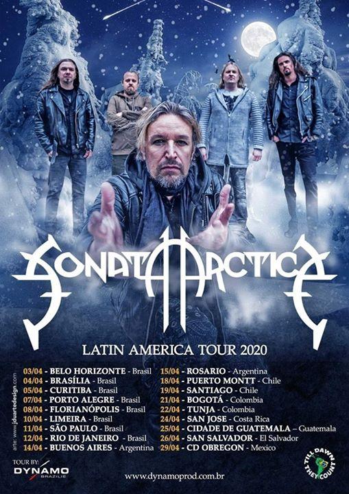 Sonata Arctica en Costa Rica 2019 (Evento Oficial)