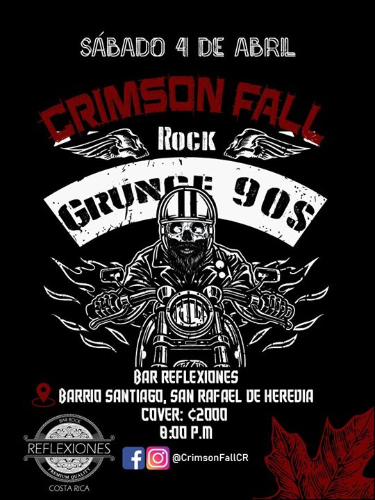 Crimson Fall en Bar Reflexiones