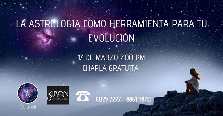 Charla Gratuita~La Astrología como Herramienta para tu Evolución