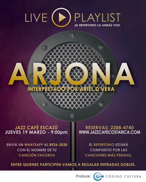 Especial Ricardo Arjona - Live Playlist